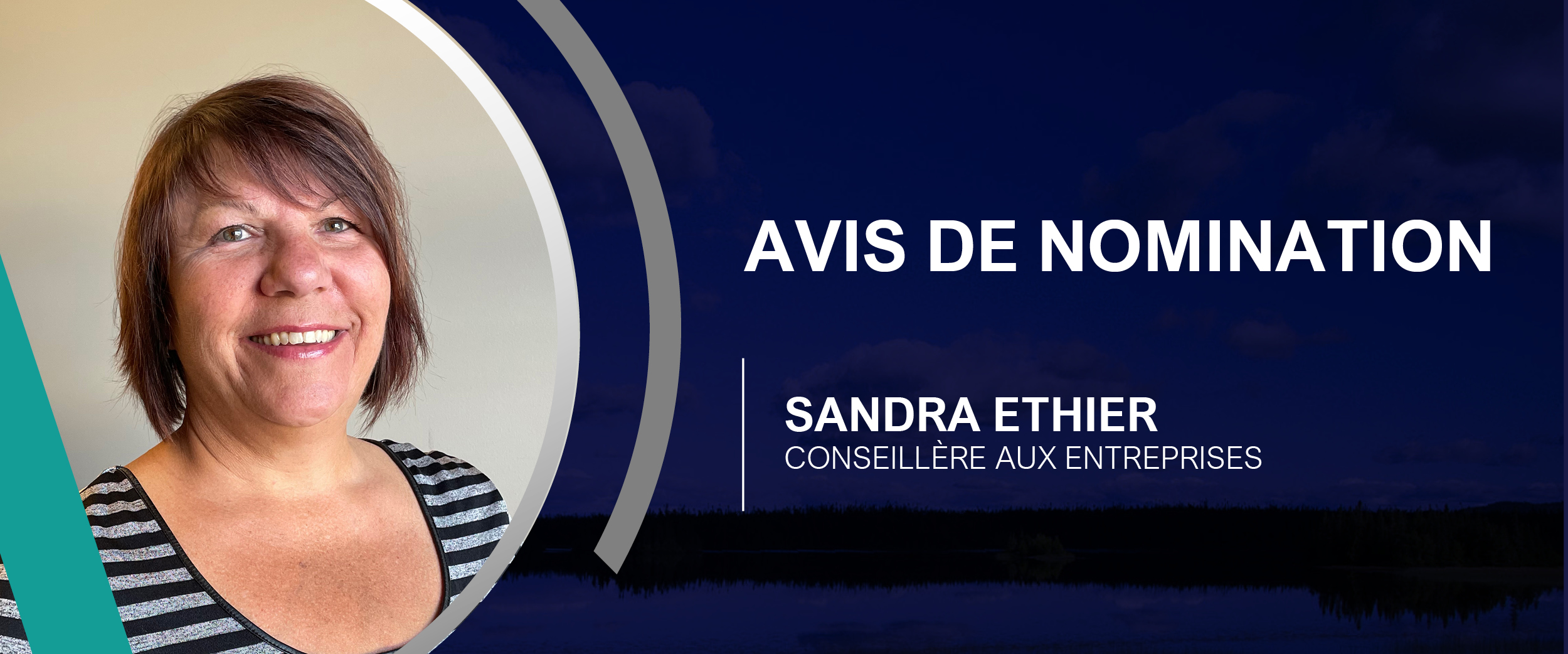 Avis de nomination Sandra Ethier